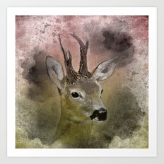out in the woods -1- Art Print