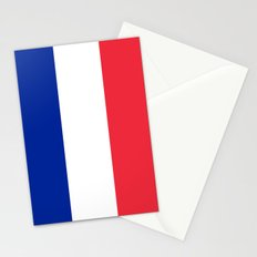France / French Flag / Drapeau Stationery Cards