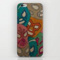 love lucha iPhone & iPod Skin