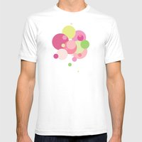 Balloons//Five Mens Fitted Tee White SMALL