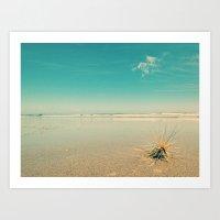 Beach Star Art Print