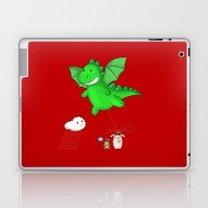 Godzilla rains first! Laptop & iPad Skin