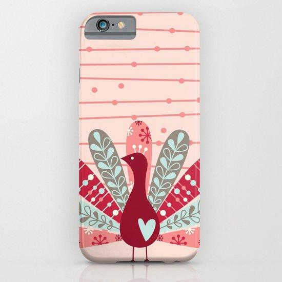Garden Peacock iPhone & iPod Case