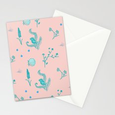Design Based in Reality Pink Stationery Cards