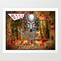 The Predator! Art Print