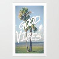 Good Vibe Tribe Art Print