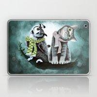 Cat And Owl Laptop & iPad Skin