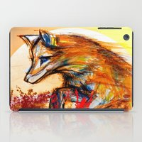 Fox in Sunset II iPad Case