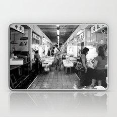 Somethings Fishy [Black & White] Laptop & iPad Skin