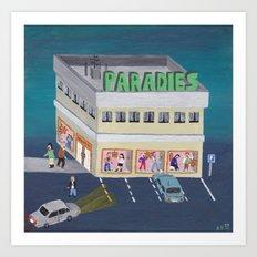 Paradies Art Print