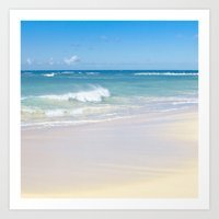 Beach Bliss Art Print