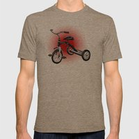 Playtime! Mens Fitted Tee Tri-Coffee SMALL