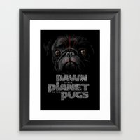 Dawn Of The Planet Of Th… Framed Art Print