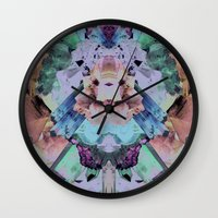 Crystal Collage Wall Clock