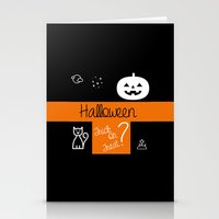 halloween! Stationery Cards