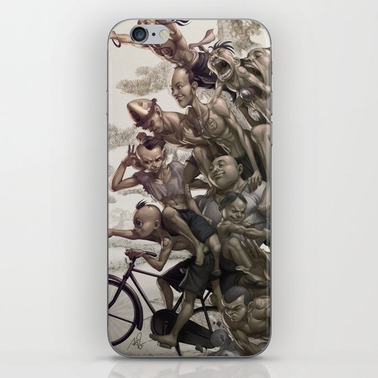 Ten Brothers iPhone & iPod Skin