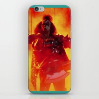The Demon Rises iPhone & iPod Skin