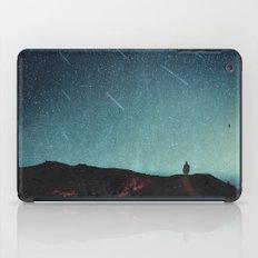 night of falling stars iPad Case