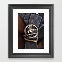 Mockingjay Framed Art Print