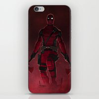 Overhanging iPhone & iPod Skin