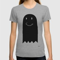 Booooh Womens Fitted Tee Athletic Grey SMALL