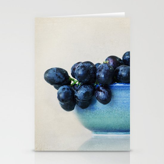 Grapes Stationery Card