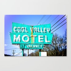 Cool Valley Canvas Print