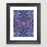 Mandala I {celestial} Framed Art Print