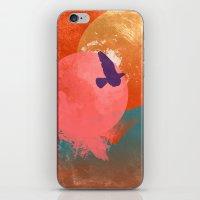 Solitary Flight iPhone & iPod Skin