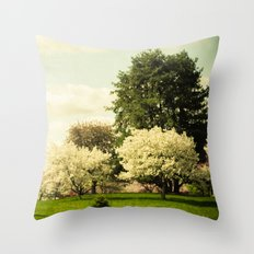 In a Land Far Away Throw Pillow