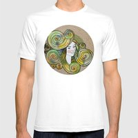Yesil Mens Fitted Tee White SMALL