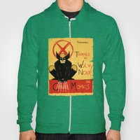 Wolvy The Black Cat Hoody