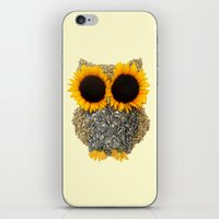 Hoot! Day Owl! iPhone & iPod Skin