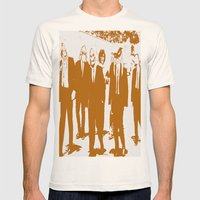 Reservoir Awesome Mens Fitted Tee Natural SMALL