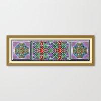 Garden Of Jewels Canvas Print