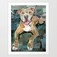 Roo Art Print