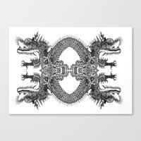 Scales Of Symmetry  Canvas Print