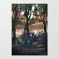 Metal Gear Solid - The End Canvas Print