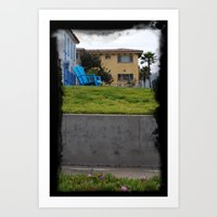 House on The Esplanade Art Print