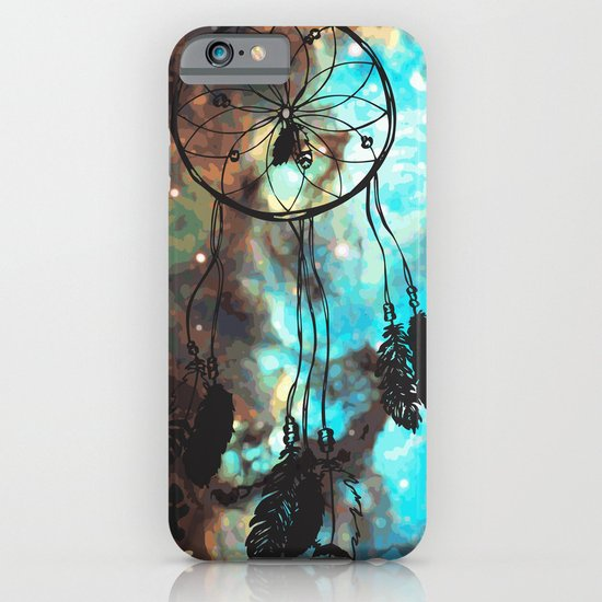 Dreamcatcher (blue) iPhone & iPod Case