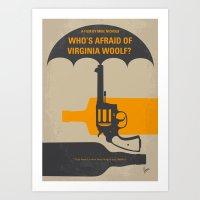 No426 My Whos Afraid Of … Art Print