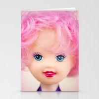 Pink & Cheery Stationery Cards