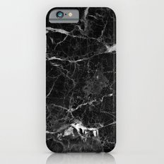 Black Marble Slim Case iPhone 6s