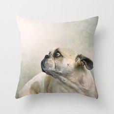 Seeking absolution..... Throw Pillow
