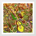 Dance to the Music, Naturally! Art Print