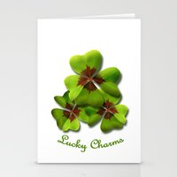 Lucky Charm Fairy Stationery Cards