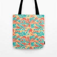 Hipster Camo Tote Bag
