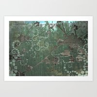 Recyclotron Art Print