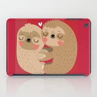 Sloth love iPad Case