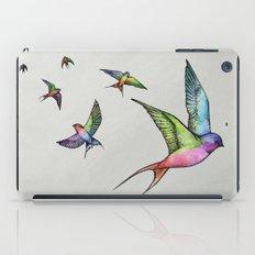 Swallows in Flight iPad Case
